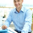 Confident businessman - Stockfoto