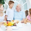 Family dinner - Stock Photo