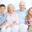 Seniors and youngsters — Stock Photo #25264501