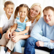 Family at home — Stock Photo #25264523