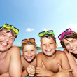 Foto Stock: Summer recreation