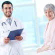Doctor and patient — Stock Photo #25265643