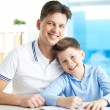 Man and his son — Stock Photo #25265919