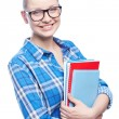 Stock Photo: College girl