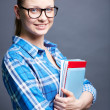 Stock Photo: Pretty student
