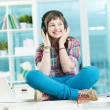 Teenage listener — Stock Photo #25266387
