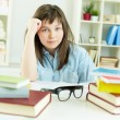 Stock Photo: Homework doer