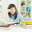 Homework doer — Stock Photo