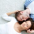 Stock Photo: Enjoying closeness