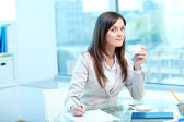 Day in office — Stock Photo