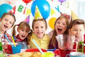 Alegria aniversário — Foto Stock