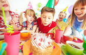 Birthday wish — Stock Photo