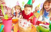 誕生日の願い — ストック写真
