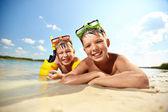 Recreação de verão — Foto Stock