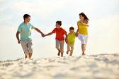 Carefree family — Stock Photo