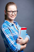 Pretty student — Stock Photo