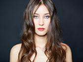 Pretty brunette — Stock Photo