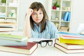 Homework doer — Stock Photo