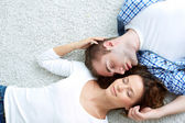Enjoying closeness — Stock Photo