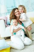 Happy family life — Stock Photo