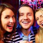 In karaoke bar — Stock Photo #28275001