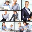 Stock Photo: Happy colleagues