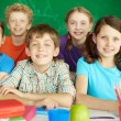 happy schoolkids — Stock Photo #28274247