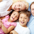 Parents and kids — Stock Photo