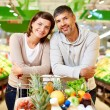 Buying products — Stock Photo
