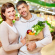 Stock Photo: Couple of vegetarians