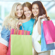 Stock Photo: Glamorous shoppers