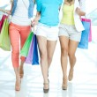 Stock Photo: Shopping walk