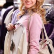 Pretty shopper — Stock Photo