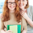 Proud of daughter — Stock Photo