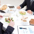 Stock Photo: Business lunch