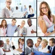 Young employees — Stock Photo