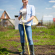 Pretty farmer — Stock Photo