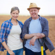 Stock Photo: Two farmers