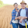 Farmers on the field — Stock Photo #28278189