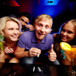 Friends in night club — Stock Photo #28278459