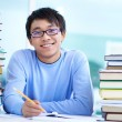 Stock Photo: Cheerful learner