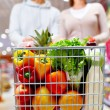 Cart with products — Stock Photo #28279201