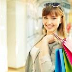 Lovely shopper — Stock Photo #28279211