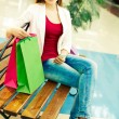 Rest between shopping — Stock Photo #28279257