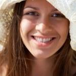 Girl in hat — Stock Photo #28279345