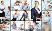 Happy colleagues — Stock Photo