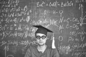 Serious student — Stock Photo