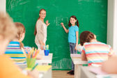 At lesson — Stock Photo