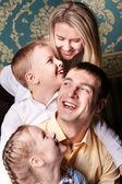 Family joy — Stock Photo