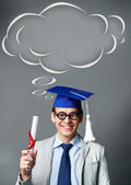 Diplômé intelligente — Photo